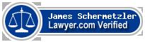 James P. Schermetzler  Lawyer Badge