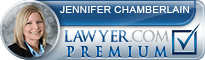 Jennifer Chamberlain  Lawyer Badge