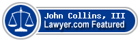 John A. Collins, III  Lawyer Badge