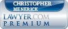 Christopher Robin Menerick  Lawyer Badge