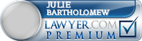 Julie C Bartholomew  Lawyer Badge