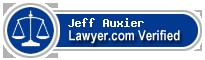 Jeff Auxier  Lawyer Badge