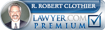 R. Robert Clothier  Lawyer Badge