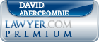 David Abercrombie  Lawyer Badge