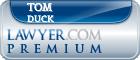 Tom Duck  Lawyer Badge