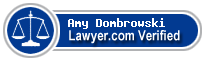 Amy E. Dombrowski  Lawyer Badge