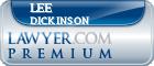Lee Randolph Dickinson  Lawyer Badge