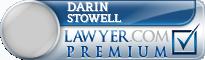 Darin David Stowell  Lawyer Badge