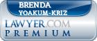 Brenda Ann Yoakum-Kriz  Lawyer Badge
