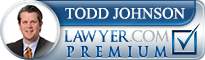 Todd Michael Johnson  Lawyer Badge