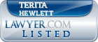 Terita Hewlett Lawyer Badge