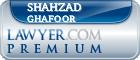 Shahzad N. Ghafoor  Lawyer Badge