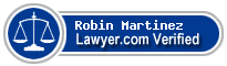 Robin Stanley Martinez  Lawyer Badge
