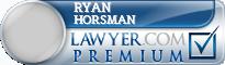 Ryan Wesley Horsman  Lawyer Badge