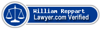 William Clayton Reppart  Lawyer Badge