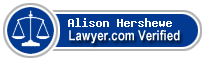 Alison Hershewe  Lawyer Badge