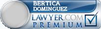 Bertica Dominguez  Lawyer Badge