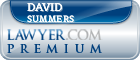 David G. Summers  Lawyer Badge