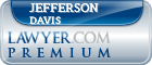 Jefferson W. N. Davis  Lawyer Badge