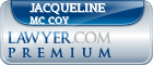 Jacqueline Jean Mc Coy  Lawyer Badge