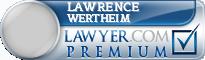 Lawrence Wertheim  Lawyer Badge