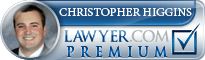 Christopher Roy Higgins  Lawyer Badge