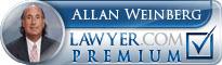 Allan Weinberg  Lawyer Badge
