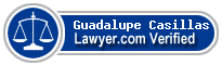Guadalupe Casillas  Lawyer Badge