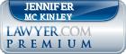 Jennifer Sue Mc Kinley  Lawyer Badge