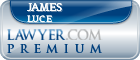 James Michael Luce  Lawyer Badge