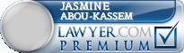 Jasmine Abou-Kassem  Lawyer Badge