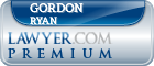 Gordon D. Ryan  Lawyer Badge