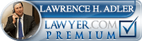 Lawrence Howard Adler  Lawyer Badge