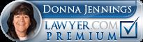 Donna Jennings  Lawyer Badge
