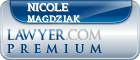 Nicole Magdziak  Lawyer Badge