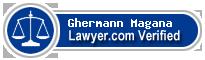 Ghermann Magana  Lawyer Badge
