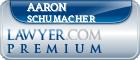 Aaron Schumacher  Lawyer Badge