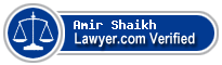 Amir Munir Shaikh  Lawyer Badge