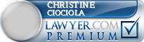 Christine Jo Ciociola  Lawyer Badge