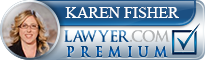 Karen A. Fisher  Lawyer Badge