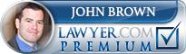 John M Brown  Lawyer Badge