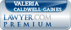Valeria L Caldwell-Gaines  Lawyer Badge