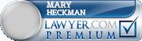 Mary Ann Heckman  Lawyer Badge