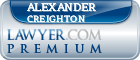 Alexander Learned Creighton  Lawyer Badge