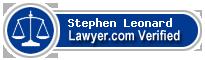 Stephen Leonard  Lawyer Badge