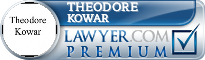 Theodore A Kowar  Lawyer Badge