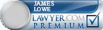 James R. Lowe  Lawyer Badge