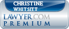 Christine Stokes Whitsitt  Lawyer Badge