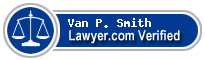 Van P. Smith  Lawyer Badge