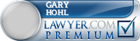 Gary David Hohl  Lawyer Badge